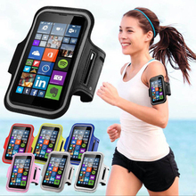 New Adjustable Sport GYM Armband Bag for Xiaomi Redmi Note 4 Xiaomi Redmi Note 4X Waterproof Jogging Mobile Phone Belt Arm Band(China)