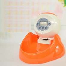 Dry Portion Control Timer Pet Feeder Automatic Dog Food Dispenser Battery