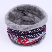 2017 Fashion Winter Scarf For Men Thickened Wool Collar Scarves Women General Baby Girls Scarf Boys Neck Scarf Cotton Unisex(China)