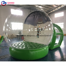 Outdoor bubble lawn inflatable dome camping tent clear good show tens factory price inflatable transparent tent from china(China)