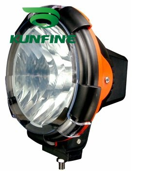 9-30V/55W 7 INCH HID Driving Light HID Offroad Spot/Flood Beam Light for SUV Jeep Truck ATV HID XENON Fog Lights<br>