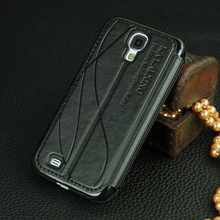 original leather case For samsung galaxy s4 s 4 / s4 mini case flip luxury cover For galaxy Samsun s4mini Mobile Phone Cases