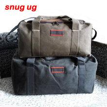 SNUGUG Men Travel Bags Large Capacity Women Luggage Travel Duffle Bags  Canvas Big Travel Handbag Folding f05d94b172