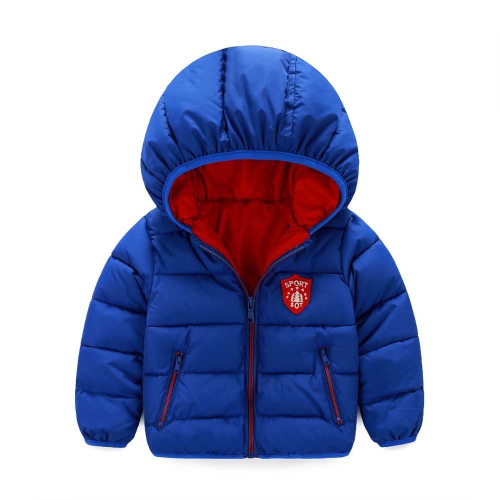 2017 New Children Winter Coat Casual Jacket For Girl Baby Outerwear Boys Cotton-Padded Short Paragraph 1-Одежда и ак�е��уары<br><br><br>Aliexpress