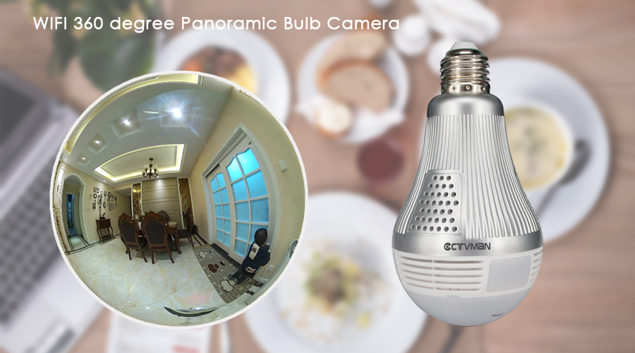 security bulb camera
