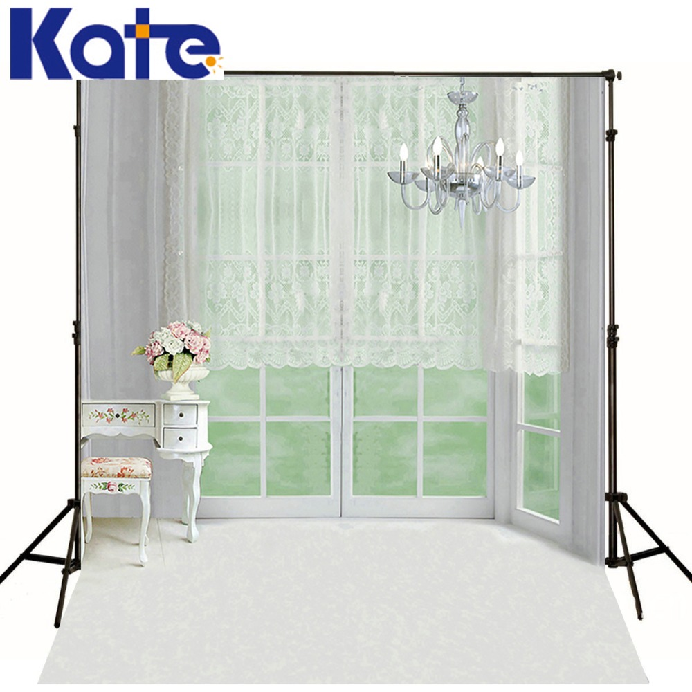 200X300CM Kate Warmth Indoor  Backgrounds Cabinet Chandelier Curtains Photography Backdrops Photography Backdrops 3165 LK<br>