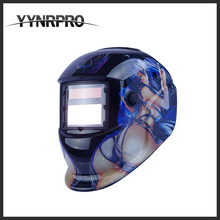 YYNRPRO factory direct shipping special beauty pic atuo darkening solar welding mask/ welding helmet protector(China)