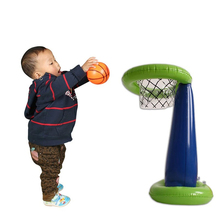 60*32cm Inflatable Toys basketball Stand game pitching for children nursery toys props indoor and outdoor activities(China)