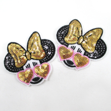 82*80mm back with glue cat embroidery patch diy clothing patch applique blossom DIY Accessory Sewing Supplies 20pcs,20Y51896