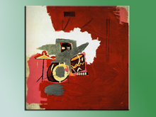Cuadros Wall Art Paintings 2016 Fashion Painting Max Roach Jean Michel For Graffiti Art Print On Canvas For Home Decoration