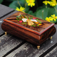 30 notes music box wooden music box luxury gifts Boutique collection(China)