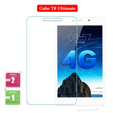 For Cube T8 Ultimate 8 Inch Tempered Glass Full Screen Protector Tablet PC Film 2.5D Edge 9H Transparent Ultra-thin