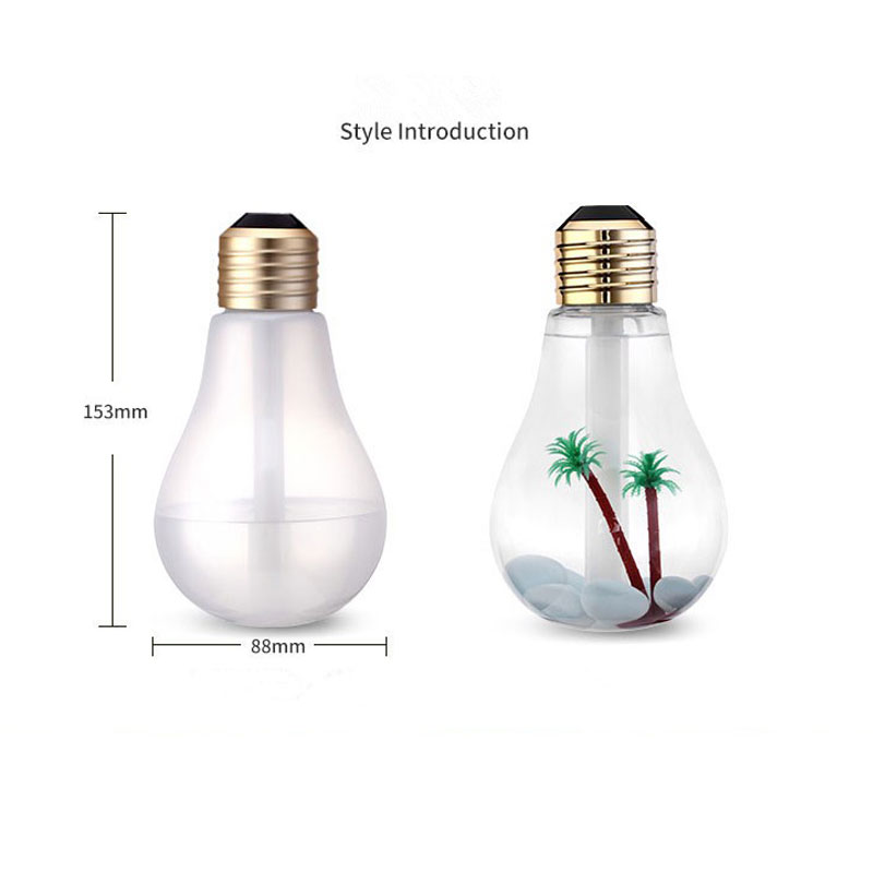 Ingelo USB Gadgets Desk Humidifier Desktop Bulb Air Humidifiers Cool Mist for Office Desk Home Babies Kids Bedroom USB Gadget (6)