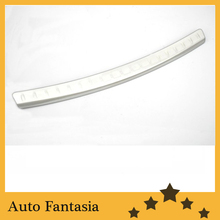 Chrome Rear Bumper Guard Guard Steel Plate for Mazda CX7- Free shipping(China)