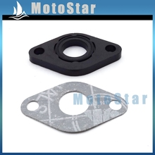 Intake Manifold Inlet Pipe Gasket For GY6 50cc Engine Carburetor Carb Chinese Scooter Moped SUNL Baotian Znen Jmstar Kazuma(China)
