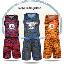 2017 Men's Basketball Jersey Uniform 6 Camoflage Colors Good Quality