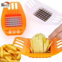CUSHAWFAMILY home Slicer Cut cutting device French fries strip cutting machine Vegetable Slicer cut potatoes for fries tool(China)
