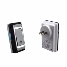 2017 NEW TS-K108W12 Super Penetration Wireless Remote Energy Saving Doorbell High Frequency Emission Home Security Device(China)