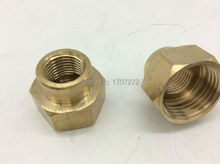 "free shipping 1/2""x1/4"" female Threaded Reducer copper Pipe Fitting, copper fitting, brass fitting"