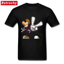 2017 Game Rayomz shirt Cool Rayman Legends T-shirt for Men Short Sleeved Customize Rayomz Tee Shirt Man Large and Tall Apparel(China)