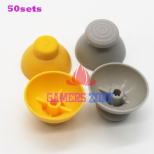 50sets=100pcs  Analog Thumbstick Joystick Stick Cap Caps for Gamecube NGC GC controller Left and right thumbsticks