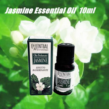 Pure Aroma Fragrance Natural Jasmine Essential Oil Massage Pedicure Humidifier 10ml(China)