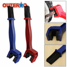 New Arrival Motorcycle Chain Brush Cycling Brake Dirt Remover Bicycle Chain Tire Maintenance Cleaners