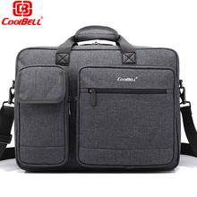 Laptop bag 15.6 15 17 17.3 inch notebook bags shoulder Messenger Nylon airbag men computer bags fashion handbags Women Briefcase(China)