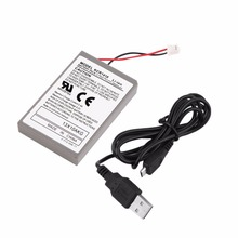 1pc 2000mAh Rechargeable Battery Pack for Sony Playstation PS4 Controller Cable Drop Shipping Wholesale Eletronic Hot(China)