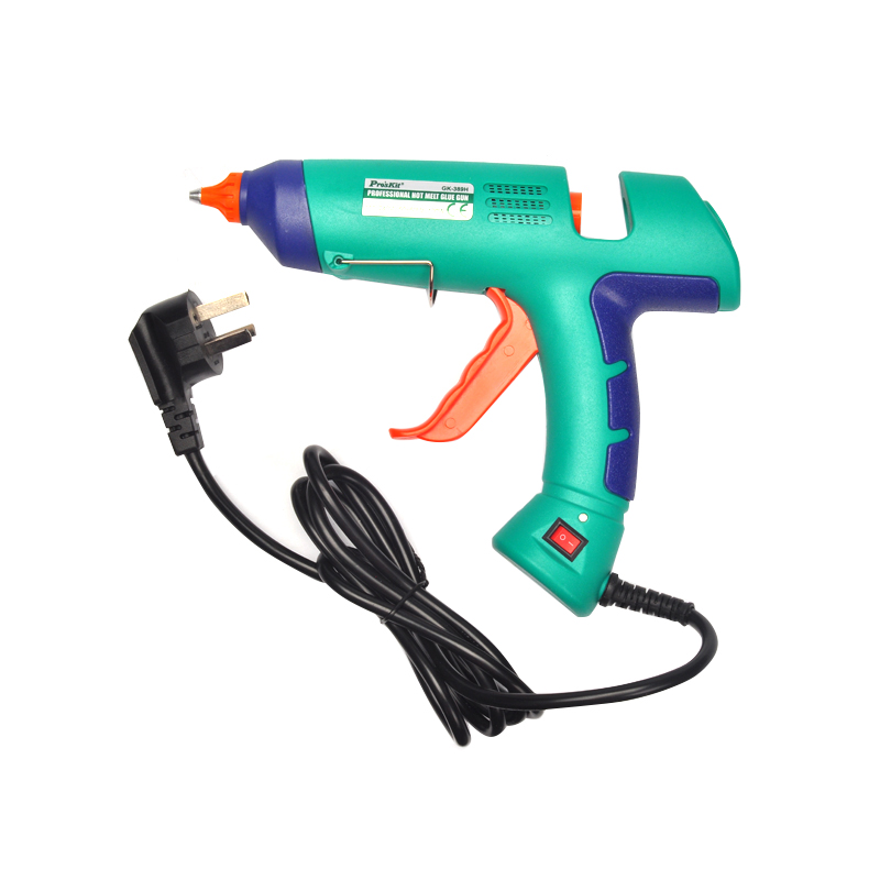 Power Tool Professional glue gun 100W  Melt Hot Glue Gun With LED Indicator For Adhesive Cardboard Boxes GK-389H<br><br>Aliexpress
