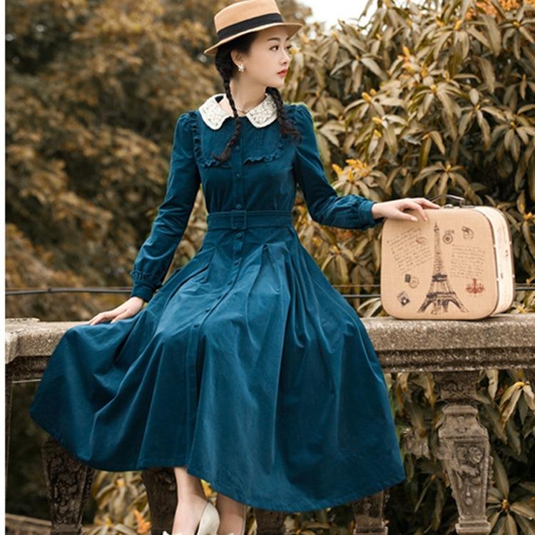 Винтажное Платье В Стиле Ретро