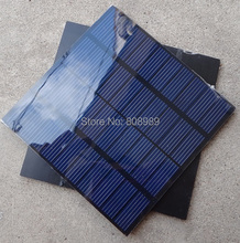 High Quality Mini 1.45W 10V 140MA Solar Cell Polycrystalline PET Solar Panel Solar Module DIY Charger 109*109*3MM Free Shipping(China)