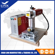 Low price and Distributor wanted! fiber laser 30w for stainless steel/ceramic/metal sheet/money box/ gift
