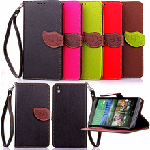 Leaf Case for HTC Desire 816 G D816G Dual SIM D816h D816n Flip Case Wallet Phone Leather Cover for HTC Desire 816g desire816(China)