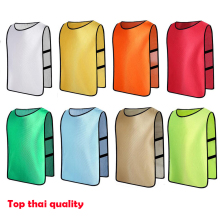 2017 top quality Adult/Kid Football Training Vest Soccer Jerseys Football Vest Soccer Training Vest Sports Pinnies free shipping