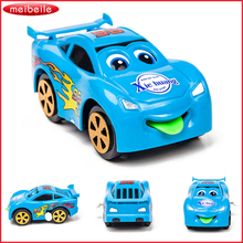 New Arrival Multi Function Car Turn a Chain of Ryes Move the latest Hot Tongue Cartoon Toy Free Shipping(China)