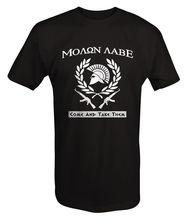 Molon Labe Greek Come and Take Them AR15 AK47 T Shirt T Shirts Casual Brand Clothing Cotton