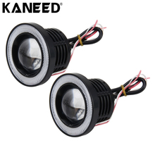 KANEED Angel Eyes LED Light Universal 3Inch R500 High Intensity LED Lamp Car Fog Light Halo Angel Eyes Rings Fog Lamp Waterproof