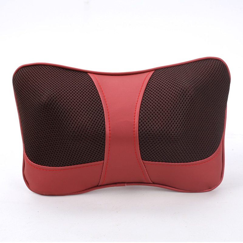 neck massager Electric Infrared Heating Shiatsu Kneading Neck Shoulder Back Body  Massage Pillow  Home car dual-use<br><br>Aliexpress