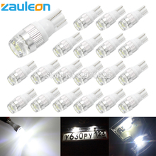 Buy Zauleon 20pcs T10 LED Light W5W 194 192 168 Super Bright White DC 12V License Plate Lights Auto Car Bulb Reading Roof Dome Lamp for $7.16 in AliExpress store