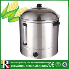 Electric big capacity 48L 220V sweet corn steamer for sale