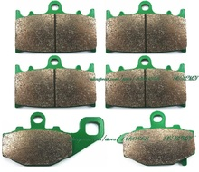Disc Brake Pads Set for KAWASAKI ZZR400 ZZR-400 ZZR 400 / ZZR600 ZZR-600 ZZR 600 1993 & up/ X9 X-9 R 900 NINJA 1994 1995