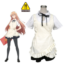 Free Shipping Sword Art Online The Movie: Ordinal Scale Working!! Servers Maid Uniform Anime Cosplay Costume(China)
