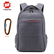 Tigernu Fashion School Bags Laptop Backpack 15 inch Travel Business Backpack bags Rucksack mochila free shipping