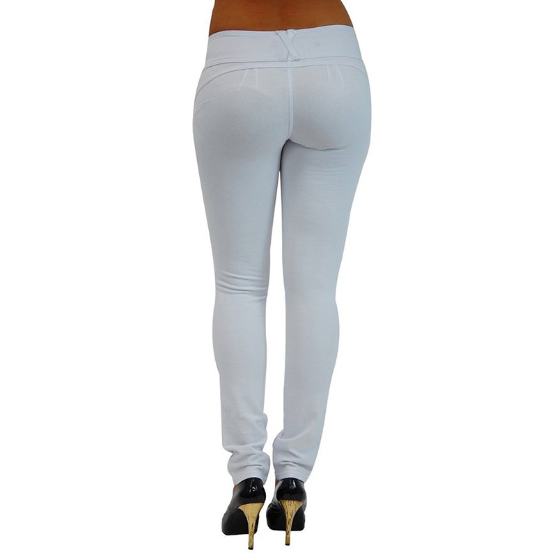 Sexy Push Up Leggings, Women's Denim Leggings, Casual Elastic Jeggings 21