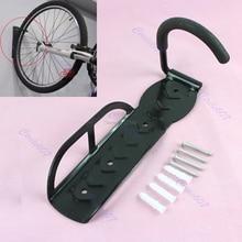 Bicycle Hook Cycling Bicycle Bike Storage Wall Mounted Rack Stands Steel Hanger Hook + Screws Bicycle Accessories JUN13