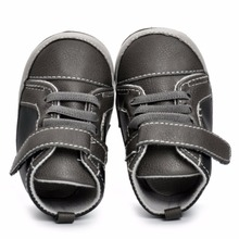 2017 Autumn&Winter Baby shoes Boy Leather Boot Newborn First Walkers Infant Baby Children PU leather Shoes Boots