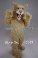 mascot Long Hair Material Saber Tooth Mascot Costumes Outfits Suits For Holiday Party Carnival Advertising Stage