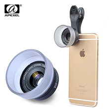 25mm super macro lens professional HD 10x super macro camera phone lenses for iPhone Samsung Xiaomi HTC with universal clip