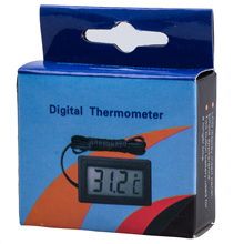 Promotion! New Digital Display  LCD Thermometer Fridge Freezers Refrigerator + Batteries